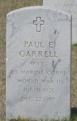 Paul Eugene Gene Carrell