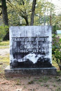 Annie Lou <i>Hudson</i> Ashby