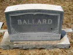 Elizabeth Allen Lizzie <i>Houston</i> Ballard