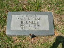 Kate <i>Martin</i> Brumley