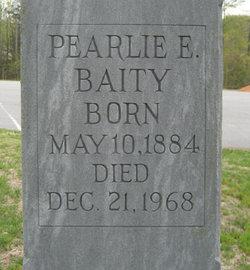 Pearlie Eva <i>Hayes</i> Baity