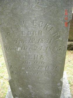 Magdalena Lena <i>Elison</i> Eckert