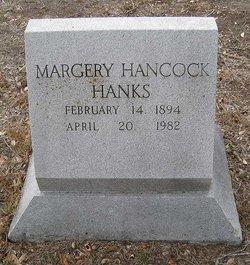 Margery <i>Hancock</i> Hanks