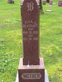 Eliza Jane <i>Huyck</i> Beacraft