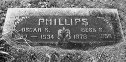 Elizabeth Ann Bessie <i>Simms</i> Phillips