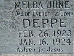 Melba June Deppe