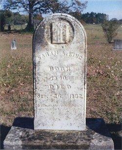 Sarah Ann <i>Jones</i> King