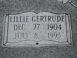 Lillie Gertrude <i>Snider</i> Deppe