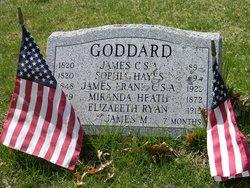 James M Goddard