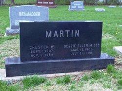 Chester W Martin