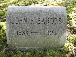 John P Bardes