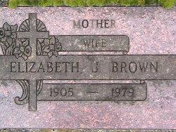Elizabeth J. <i>LeBlanc</i> Brown