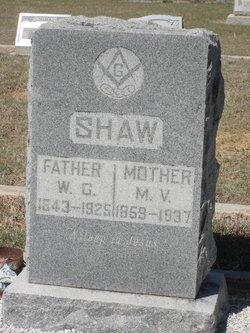 Melvina V <i>Noras</i> Shaw