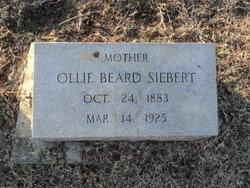 Ollie <i>Beard</i> Siebert