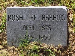 Rosa <i>Lee</i> Abrams