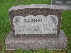 Mary Pauline <i>Roller</i> Barnett