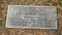 LTC Edith Marie <i>Wimberly</i> Patient