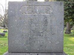 Mary S. <i>White</i> Adams