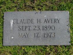 Claude H Avery