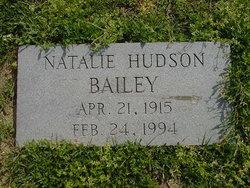 Natalie <i>Hudson</i> Bailey