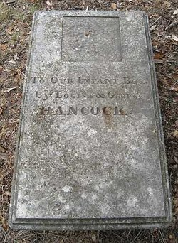 Infant Son Hancock
