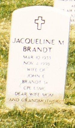 Jacqueline M Brandt