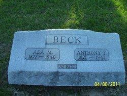 Ada Maud <i>Evans</i> Beck