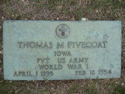 Thomas M Fivecoat, Sr