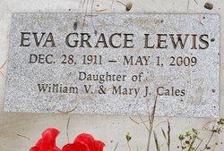 Eva Grace <i>Cales</i> Lewis