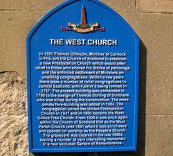 Falkirk West Churchyard