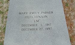 Mary Emily <i>Parker</i> Hutchinson