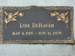 Lois May <i>Ives</i> DeHaven