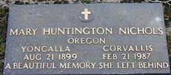 Mary <i>Huntington</i> Nichols
