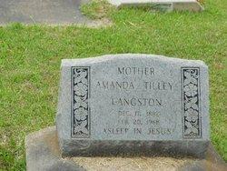 Amanda Tilley Langston