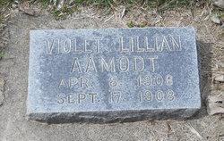 Violet Lillian Aamodt