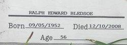 Ralph Edward Bledsoe