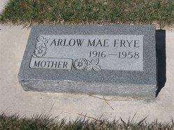 Arlow Mae <i>Appleby</i> Frye
