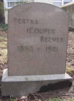 Bertha <i>Cooper</i> Brewer