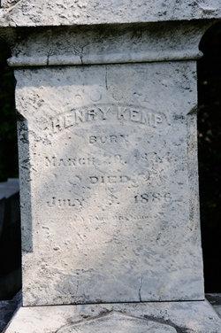 Henry(Harry) Kemp