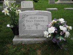 Mary Ann <i>Swan</i> Cornwell