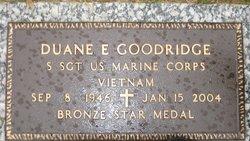 Sgt Duane Eugene Goodridge