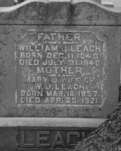 Mary Jane <i>Ijames</i> Leach