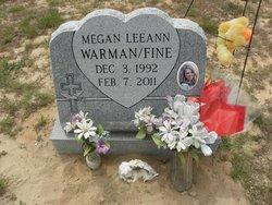 Megan LeeAnn Warman-Fine