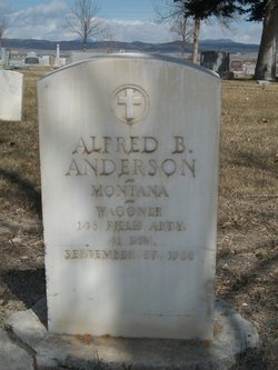 Alfred B Anderson