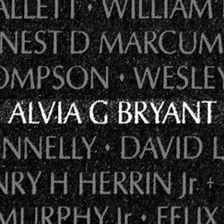 Corp Alvia Grady Bryant