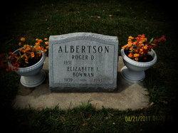 Elizabeth Lee <i>Bowman</i> Albertson