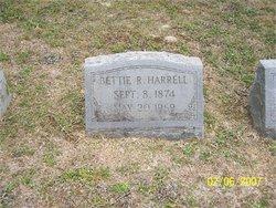 Sarah Elizabeth Bettie <i>Allsbrook</i> Rogister Harrell