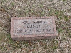 Agnes <i>Waddell</i> Gardner