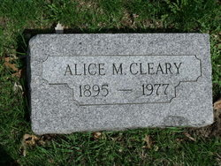 Alice Marie Cleary