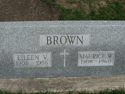 Eileen V <i>Burns</i> Brown